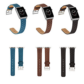 cheap Smartwatch Bands-Leather Watch Band Strap for Apple Watch Series 4 17cm / 6.69 Inches 3.8cm / 1.5 Inches / 4cm / 1.57 Inches / 4.2cm / 1.65inches