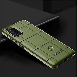 cheap Samsung Case-Rugged For Samsung Galaxy A21 / A31 /A41 /A51 /A71/ A81 /A91 Case Silicone Bumper For Samsung Galaxy A90 5G / A70 /A60 A40S /S30S/ A20E / A10E / S20 /S10 Lite / Note 10 / Note 10 Plus Armor Cover