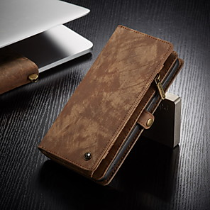 cheap iPhone Cases-CaseMe Multifunctional Luxury Business Leather Magnetic Flip Case For Samsung Galaxy A71 / A51 / S20 / S20 Plus / S20 Ultra With Wallet Card Slot Stand 2-in-1 Detachable Case Cover