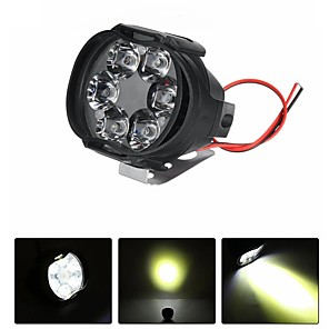 cheap Motorcycle Lighting-12V 8W 6LED Motorcycle Motorbike Front Spot LED Light Headlights Lamp