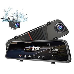 cheap Car DVR-JUNSUN Junsun H11 1080p Full HD / HD Car DVR 170 Degree Wide Angle CMOS 10 inch IPS Dash Cam with Night Vision / G-Sensor / Parking Monitoring 4 infrared LEDs Car Recorder / motion detection / WDR