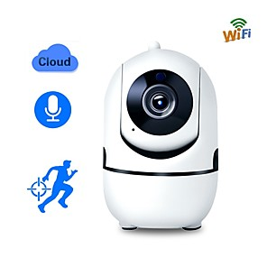 cheap Home Security System-Wireless IP Camera Wifi Camera Smart Auto Tracking Human Home Security Surveillance CCTV Network 720P Camera
