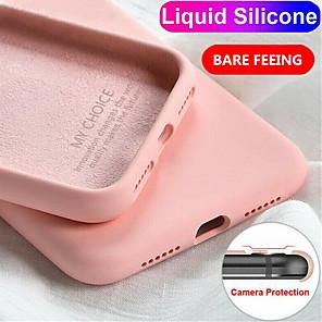cheap Xiaomi Case-Liquid Silicone Case For Xiaomi Mi 10 / 10Pro / CC9Pro / 9 / 9SE / 9T / 9TPro /CC9E Slim Soft Cover For Xiaomi Redmi Note 9Pro /Note 9Pro Max / 8T / 7A / 8A / K30 / Note 10 / Note 10 Pro / Note 8Pro