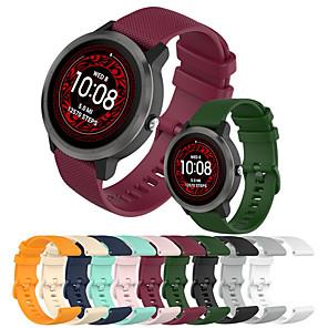cheap Smartwatch Bands-Silicone Bracelet for Garmin Vivoactive 3 / Forerunner 245M / Forerunner 645 Watchband Smart Watch Replacement for Garmin Vivoactive 3 / 245 / 245M / 645