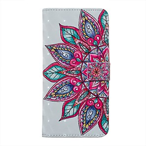 cheap Samsung Case-Case For Samsung Galaxy S20 / Galaxy S20 Ultra / Galaxy S10E Wallet / Card Holder / with Stand Full Body Cases Flower PU Leather For Galaxy S10 Plus/A51/A71/A20E/A01/Note 10 Plus