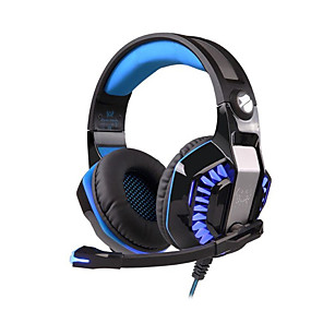 cheap Gaming Headsets-KOTION EACH G2000 Second Generation Gaming Headphones with Microphone Led Light Noise Reduction Headphone for Computer Gamer Stereo Headset