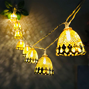 cheap LED String Lights-3M 20LED Pine Cone Acorn LED String Lights Battery Operated Fairy Light Christmas Wedding Garden Party Family Party Room Decoration Pendant Without Battery