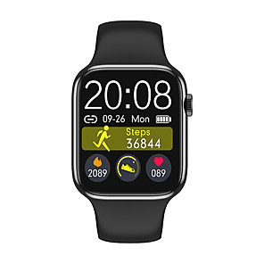 cheap Smartwatches-W98 Unisex Smartwatch Android iOS Bluetooth Heart Rate Monitor Blood Pressure Measurement Calories Burned Thermometer Health Care Pedometer Call Reminder Sleep Tracker Sedentary Reminder Alarm Clock