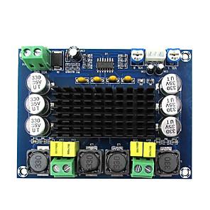 cheap Motherboards-TPA3116D2 XH-M543 Dual-channel Stereo High Power Digital Audio Amplifier Board 2*120W Amplificador DIY Module 12V-24V