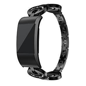 cheap Smartwatch Bands-Alloy Watch Watch Band for Fitbit Charge 2 Fitness Smart bracelet watches Replacement Fashion Strap for Fitbit Charge 2
