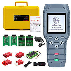 cheap OBD-OBDSTAR X100 PRO Auto key programmer (CDE) With EEPROM Adapter IMMO Odometer Correction OBD Software Tool