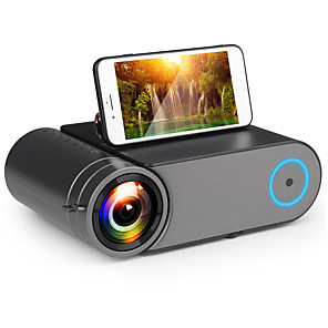 cheap Projectors-YG420 Mini Projector 3500 Lumens WIFI Sync Phone 720P Projector Native 1280x720 Support 1080P Video HD YG421 LED Beamer Portable HDMI 3D Home Theater
