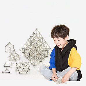cheap Building Blocks-200 pcs Magnet Toy Magnetic Sticks Magnet Toy Stress and Anxiety Relief Office Desk Toys Relieves ADD, ADHD, Anxiety, Autism Teen / Adults' All Toy Gift / 14 years+ / 14 years+