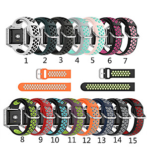 cheap Smartwatch Bands-For Fitbit Blaze Versa 2 Versa Versa Lite Watch Band Silicone Rubber Replacement Strap