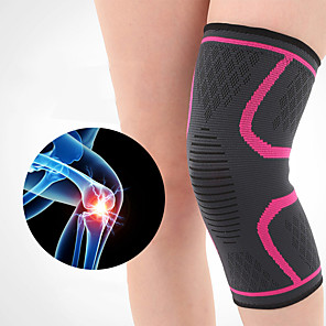 cheap Cell Phone Cables-Knee Brace Knee Sleeve for Joint Pain and Arthretith Running Marathon Anti-slip Strap Compression Collision Avoidance Fast Dry Breathable Men's Women's Emulsion Spandex Fabric 1 Piece Sports Daily