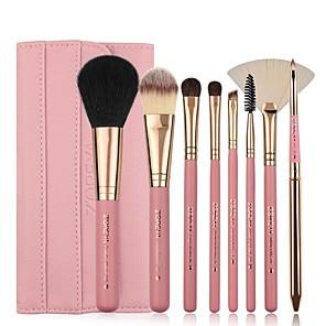cheap Makeup Brush Sets-Professional Makeup Brushes 8pcs Soft Artificial Fibre Brush Wooden / Bamboo for Foundation Brush Eyeshadow Brush Makeup Brush Set
