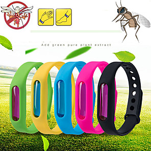 cheap Personal Protection-Dropship Mosquito Killer Silicone Wristband Summer Mosquito Repellent Bracelet Anti Mosquito Band Children Insect Killer