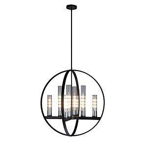cheap Dimmable Ceiling Lights-8-Light 71 cm Candle Style / Sputnik Design Chandelier Metal Glass Painted Finishes Modern / Nordic Style 110-120V / 220-240V