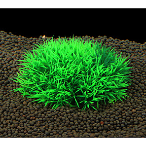 cheap Aquarium Décor & Gravel-Aquarium Decoration Flower Plastic