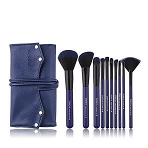 cheap Makeup Brush Sets-Professional Makeup Brushes 10pcs Soft Artificial Fibre Brush Plastic for Foundation Brush Makeup Brush Set
