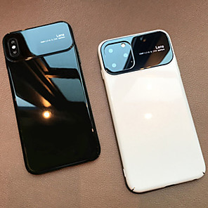 cheap iPhone Cases-iPhone 11Pro Max Ultra-thin Glass Phone Case XS Max Anti-scratch Support Wireless Fast Charge 6 7 8Plus SE 2020 Protective Case