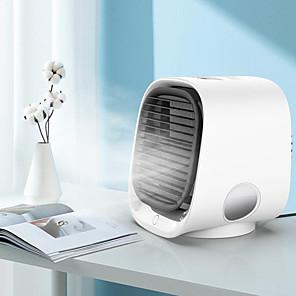 cheap Humidifiers-300mL Mini Air Conditioner USB Portable Air Cooler Desktop Air Cooling Fan