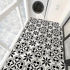 cheap Wall Stickers-PVC antiskid twill print spade heart stone floor paste bathroom bedroom living room DIY floor paste