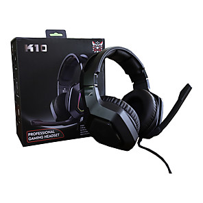 cheap Gaming Headsets-K Gaming Wired Headset with Volume Control For Gamer