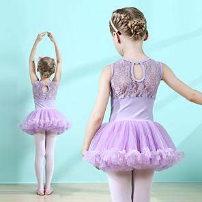 cheap Movie & TV Theme Costumes-Swan Lake Ballet Dancer Dress Tutu Girls' Movie Cosplay Tutus Pink / Lavender Dress Cotton