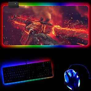 cheap Mouse Pad-Color Luminous Mouse Pad Plus Logo Large Rgb Magic Large Luminous Mouse Pad 250 * 350 * 4mm
