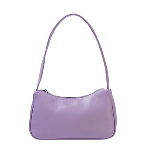 cheap Handbag & Totes-Women's Bags PU Leather Top Handle Bag for Daily White / Black / Purple