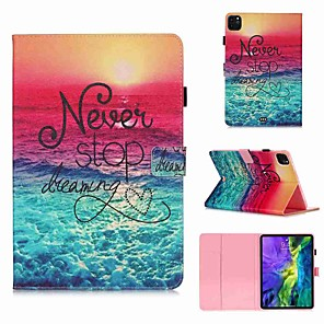 cheap iPad case-Case For Apple iPad Pro 11''(2020) / iPad 2019 10.2 / Ipad air3 10.5' 2019 Wallet / Card Holder / with Stand Full Body Cases Dream Catcher PU Leather / TPU for iPad Air / iPad 4/3/2 / iPad (2018)