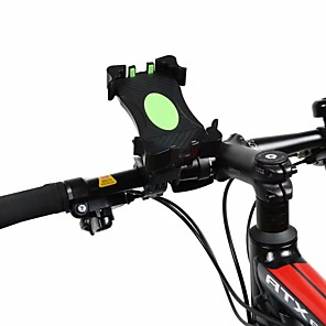cheap Phone Mounts & Holders-Bike Mount Stand Holder Bike & Motorcycle Phone Mount 360Rotation Silicone / Metal / ABS Holder