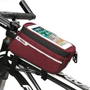 cheap Bike Covers-Cell Phone Bag Bike Handlebar Bag 6.8 inch Cycling for Black Blue Red Bike / Cycling
