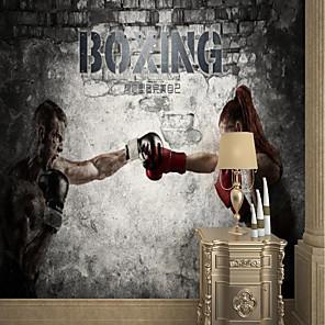 povoljno Zidne tapete-prilagođena samoljepljiva zidna pokretna slika pogodna za pozadinu zidni restoran spavaća soba hotel zidni ukras artroom wallcovering