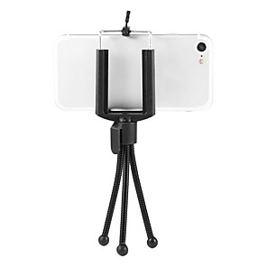 cheap Phone Mounts & Holders-Professional Mini Metal Soft Hose Photographic Travel Tripod Holder Bracket Mount Camera Accessories For Sony Camera Telescope