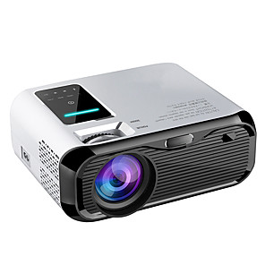 cheap Projectors-Mini Projector AT500 WIFI Android Projector Full HD Projector 1280*720 Support 1080P 7500lumens Portable Home Cinema Proyector Beamer for Android WiFi HDMI VGA AV USB