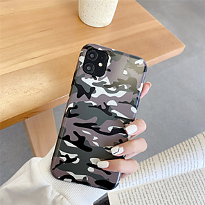 cheap iPhone Cases-Frosted IMD Camouflage TPU for Apple iPhone Case 11 Pro Max X XR XS Max 8 Plus 7 Plus SE(2020) Protection Cover
