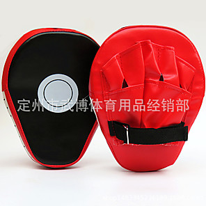 cheap Fitness Gear & Accessories-Punch Mitts For Taekwondo Lightweight PVC(PolyVinyl Chloride) Black-Red