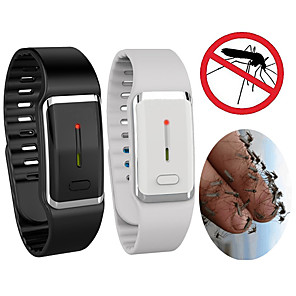 cheap Mosquito Repellent-Smart USB Rechargeable Ultrasonic Mosquito Repeller Bracelet Outdoor Electronic Insect Repeller