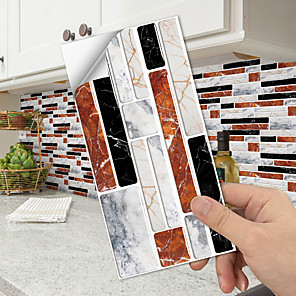 cheap Wall Stickers-imitation crystal tile paste imitation marble paste wear-resistant waterproof 3D three-dimensional environmental protection floor paste