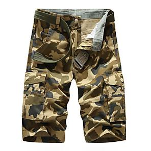 cheap Outdoor IP Network Cameras-Men's Basic Daily Slim Cotton Shorts Tactical Cargo Pants - Camouflage Breathable Summer Army Green Khaki US32 / UK32 / EU40 / US36 / UK36 / EU44 / US38 / UK38 / EU46