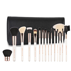 cheap Makeup Brush Sets-Professional Makeup Brushes 15pcs Soft Wooden / Bamboo for Foundation Brush Eyeshadow Brush Makeup Brush Set