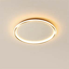 cheap Dimmable Ceiling Lights-50 cm Geometric Shapes Flush Mount Lights Metal Painted Finishes Contemporary Nature Inspired 110-120V 220-240V