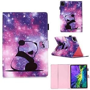cheap iPad case-Case For Apple iPad Pro 11''(2020) / iPad 2019 10.2 / Ipad air3 10.5' 2019 Wallet / Card Holder / with Stand Full Body Cases Baby Panda PU Leather / TPU for iPad Air / iPad Air2 / iPad (2018)