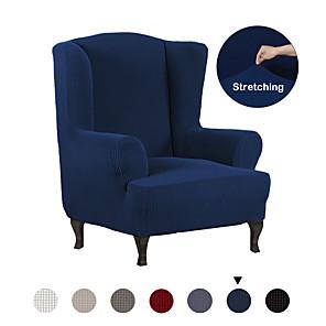 povoljno Jastuci-razvlačenje krilo stolica presvlaka krilo naslonjač naslonjači kauč presvlake 1 komad tkanine spandex krilo na leđima naslonjač naslonjača stolica zaštitnik namještaja, maska u krilci stolice u boji