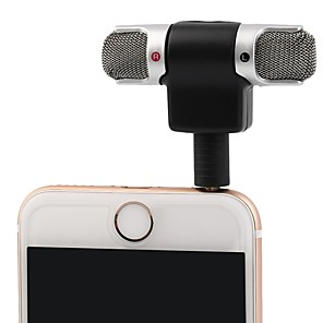 cheap Microphones-3.5mm Jack Microphone Stereo Mic For Recording Mobile Phone Studio Interview Microphone 4 pin For smartphone