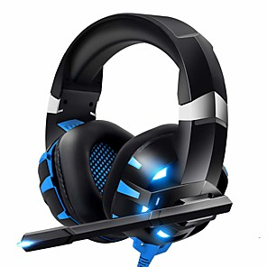 cheap Gaming Headsets-ONIKUMA K2pro K2 Pro Gaming Headset Headphone Xbox One Headset PS4 Headset with Mic & LED Light Compatible For PC, PS4, Xbox One, Computer Game, Laptop Tablet PC, Mobile Phone, Casque Gamer