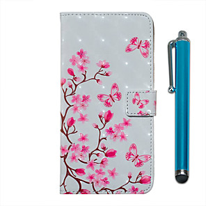 cheap Samsung Case-Case For Samsung Galaxy S20 S20 Plus S20 Ultra Wallet Card Holder with Stand Full Body Cases Butterfly Love Flower PU Leather TPU for Galaxy A51 A71 A01 A50(2019) A30S(2019) A70(2019) A20(2019)