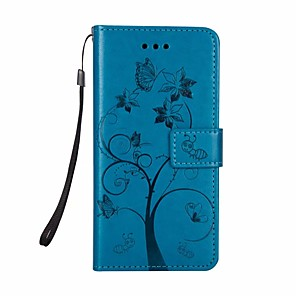 cheap Samsung Case-Case For Samsung Galaxy Galaxy S10 / Galaxy S10 Plus Wallet / Flip Full Body Cases Tree PU Leather for Samsung S10 Plus
